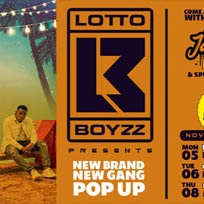 Lotto Boyzz at Hoxton Square Bar & Kitchen on Monday 5th November 2018