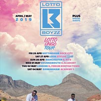 Lotto Boyz at The Forum on Thursday 2nd May 2019