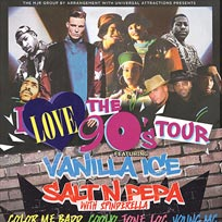 I Love the 90s Tour at Wembley Arena on Friday 29th September 2017