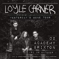 Loyle Carner at Brixton Academy on Friday 6th October 2017