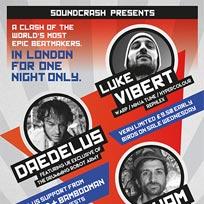 Luke Vibert, Daedalus + Samiyam. at Electric Brixton on Friday 18th November 2016