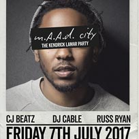 MAAD City at Trapeze on Friday 7th July 2017