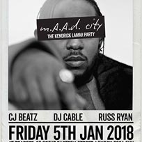 m.A.A.d City  at Trapeze on Friday 5th January 2018