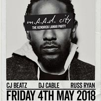 m.A.A.d City  at Trapeze on Friday 4th May 2018