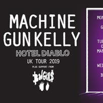 Machine Gun Kelly at The Forum on Saturday 31st August 2019