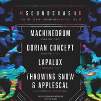 Machinedrum + Dorian Concept at Electric Brixton on Friday 23rd September 2016