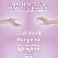 Machinedrum + Iglooghost at The Laundry Building on Thursday 23rd March 2017
