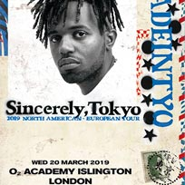 Madeintyo at Islington Academy on Wednesday 20th March 2019