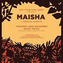 Maisha at Ghost Notes on Thursday 22nd November 2018