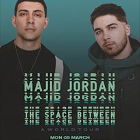 Majid Jordan at The Forum on Wednesday 7th March 2018