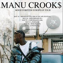 Manu Crooks at Camden Assembly on Monday 4th June 2018