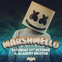 Marshmello at Brixton Academy on Saturday 21st October 2017