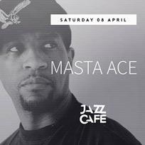 Masta Ace at Jazz Cafe on Saturday 8th April 2017