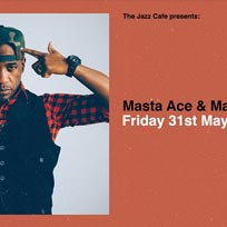 Masta Ace + Marco Polo at Jazz Cafe on Friday 31st May 2019