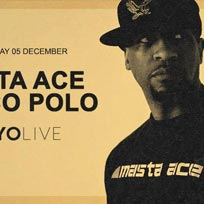 Masta Ace + Marco Polo at XOYO on Wednesday 5th December 2018