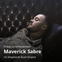 Maverick Sabre at Shepherd's Bush Empire on Friday 22nd November 2019