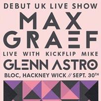 Max Graef at Bloc on Friday 30th September 2016