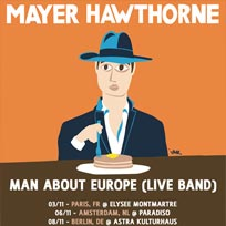 Mayer Hawthorne at Brooklyn Bowl on Saturday 19th November 2016