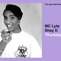 MC Lyte at Jazz Cafe on Thursday 27th June 2019