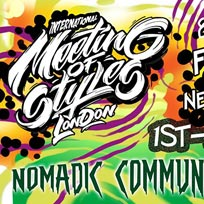 Meeting of Styles at Nomadic Community Garden on Saturday 1st July 2017