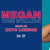 Megan Thee Stallion at XOYO on Tuesday 2nd July 2019