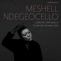 Meshell Ndegeocello  at Dingwalls on Thursday 30th May 2019