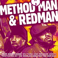 Method Man & Redman at Brixton Academy on Saturday 14th April 2018