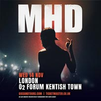 MHD at The Forum on Wednesday 14th November 2018