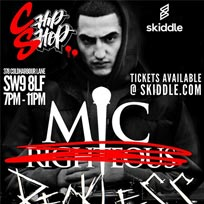 Mic Righteous at Chip Shop BXTN on Thursday 24th January 2019