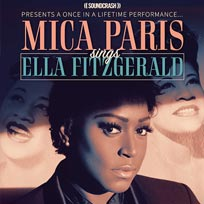 Mica Paris at Islington Academy on Sunday 11th November 2018