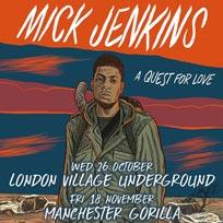 Mick Jenkins at Village Underground on Wednesday 26th October 2016