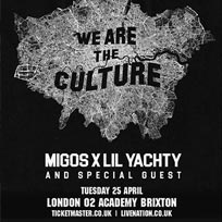 Migos & Lil Yachty at Brixton Academy on Wednesday 26th April 2017