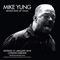 Mike Yung at Omeara on Monday 21st January 2019