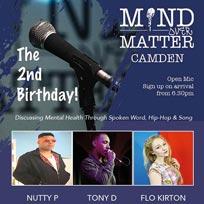 Mind Over Matter at The Fiddler's Elbow on Wednesday 11th September 2019