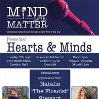 Mind Over Matter at The Fiddler's Elbow on Tuesday 25th September 2018