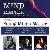 Mind Over Matter at The Bedford on Sunday 10th June 2018
