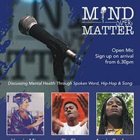 Mind Over Matter at The Fiddler's Elbow on Wednesday 8th May 2019