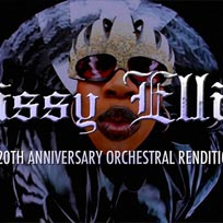 Missy Elliott: A 20th Anniversary Orchestral Rendition at XOYO on Thursday 1st February 2018
