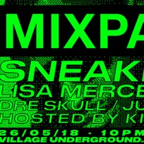 Mixpak Takeover at Village Underground on Saturday 26th May 2018