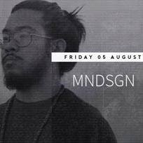 Mndsgn at Jazz Cafe on Friday 5th August 2016