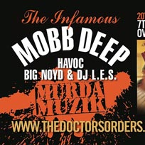 Mobb Deep at Oval Space on Saturday 7th December 2019