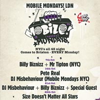 Mobile Mondays LDN at Chip Shop BXTN on Monday 28th October 2019