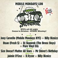 Mobile Mondays LDN at Chip Shop BXTN on Monday 22nd July 2019