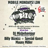 Mobile Mondays LDN at Chip Shop BXTN on Monday 21st October 2019