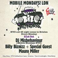 Mobile Mondays LDN at Chip Shop BXTN on Monday 21st October 2019