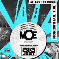 MOE Presents at The Ritzy on Monday 28th January 2019