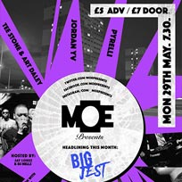 M.O.E Presents at The Ritzy on Monday 29th May 2017