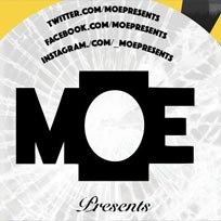 MOE Presents at The Ritzy on Monday 27th August 2018
