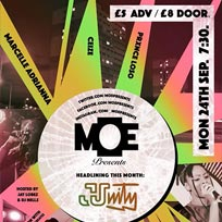 MOE Presents at The Ritzy on Monday 24th September 2018