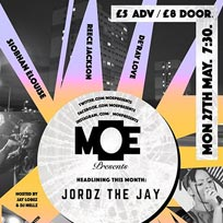 MOE Presents at The Ritzy on Monday 27th May 2019